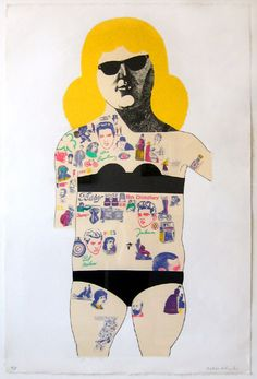 Peter Blake Tattooed Lady
