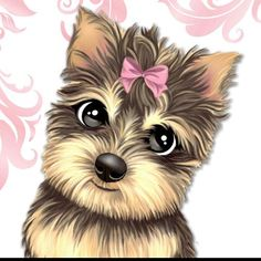 Everything About The Affectionate Yorkie Pup Kittens And Puppies, Cute Puppies, Cute Dogs, Cute Animal Drawings, Cute Drawings, Cute Images, Cute Pictures, Chien Yorkshire Terrier, Animals And Pets