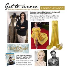 """""""Get to Know: Colleen Atwood, Oscar-Winning Costume Designer"""" by polyvore-editorial ❤ liked on Polyvore featuring GALA, Pamella Roland, Christian Louboutin and BeforeSnowWhite"""