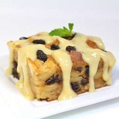 A beloved recipe for bread pudding, rich with milk and eggs, and chock-full of raisins, was found tucked away in a family Bible for safekeeping. It has a smooth vanilla sauce for serving warm over the pudding, too.