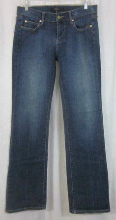 Noir Jeans Size 4 Reg Boot Cut 31x32 Low Rise Free Shipping #Noir #BootCut