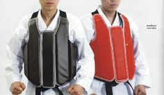 Dynamics Solid Reversible Karate Body Protector