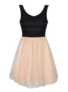 BALLERINA DRESS WITH BLACK TOP