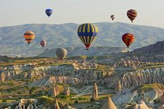 Most Beautiful Places in Europe to Visit on Your Next Trip - Thrillist Places In Europe, Places To Travel, Places To Visit, Capadocia, Pamukkale, Turkey Travel, Instagram Worthy, Hot Air Balloon, Paisajes