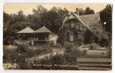 Real Photograph by Radcliffe of Tea Kiosk Cornwall Park. - 45637 - Postcard - Postcards Auckland Suburbs - Postcards New Zealand - Postcards By Country - EASTAMPS Auckland New Zealand, Kiosk, Cornwall, Postcards, Photograph, Tea, Park, Country, House Styles