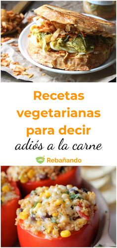 Healthy eating: tasty vegetarian recipes to say goodbye to meat! - Healthy eating: tasty vegetarian recipes to say goodbye to meat! Tasty Vegetarian Recipes, Veggie Recipes, Healthy Recipes, Food Goals, Fun Cooking, Southern Recipes, Vegan Dinners, Food Design, Italian Recipes