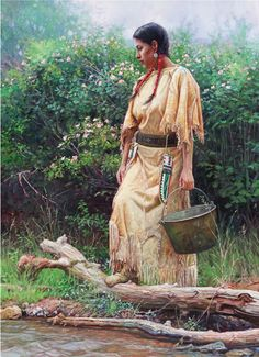 View A Rose in the Wild By Martin Grelle; Oil on canvas; Access more artwork lots and estimated & realized auction prices on MutualArt. Native American Cherokee, Native American Warrior, Native American Symbols, Native American Women, American Indian Art, Native American History, Native American Indians, Cherokee Rose, Native American Paintings