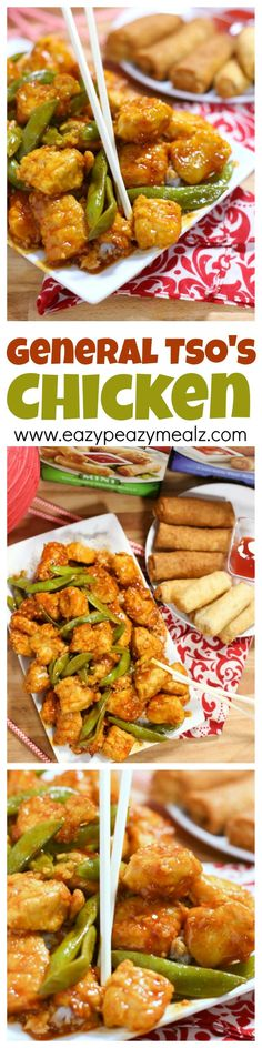 General Tso's Chicken with a TWIST, a family favorite recipe and perfect for celebrating Chinese New Year #ad #NewYearFortune - Eazy Peazy Mealz