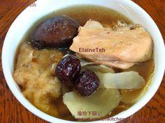 鱼鳔冬菇炖鸡汤