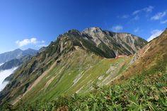 五竜岳 唐松岳ルート - 登山百景