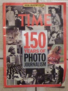 Vintage Time Magazine 150 Years of Photo Journalism Fall 1989 Collectors Edition #Time