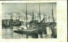 Tromsø havn tidlig 1900-tall