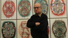 Luis Gordillo (Sevilla, 1934 - ) Pintor abstracto español. www.luisgordillo.es