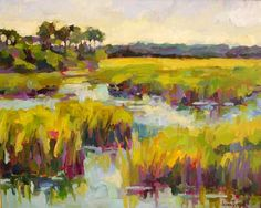 """So many of these sort of """"expressionist"""" paintings around southern Louisiana"""