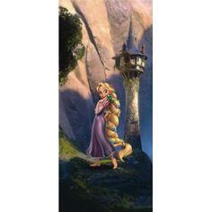 Aranyhaj álló poszter (90 x 202 cm) Rapunzel, Poster Mural, Castle, Princess Zelda, Painting, Fictional Characters, Parfait, Products, Doors