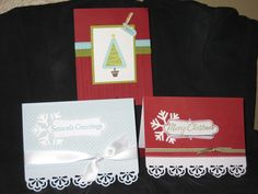 One of the many Christmas card classes I had in 2011