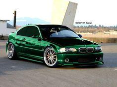 Chrome green BMW M3
