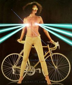 I'm not sure what this 1980 bike poster is selling [NSFW, sorta] Playboy, Atelier Theme, Velo Vintage, Vintage Bikes, Roller Disco, Bike Poster, Bike Photography, Bicycle Girl, Cycling Art