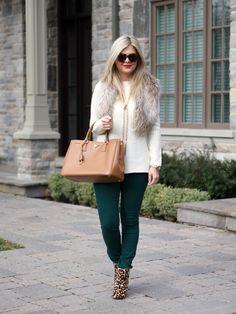 Suburban Faux-Pas: Green Jeans {Yoga Jeans Giveaway}