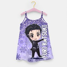 Yuri! On Ice Chibi Yuri Katsuki Girl's Dress