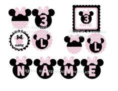 decoración personalizada del partido del ratón de por PaperoStudio