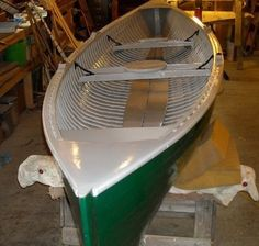 The finished product. A 1934 Barrett Rangeley boat!