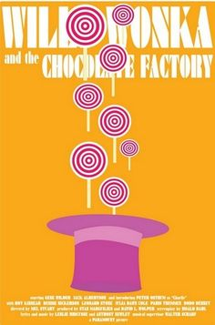 Willy Wonka and the Chocolate Factory by Alex Eylar- one of my favorite movies ever! it always puts a smile on my face :)