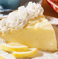 "Recipe for Lemon Cream Cheese Pie - ""So easy to make - even if you think your pie-challenged."""