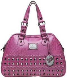 Baby Phat Kayla Satchel Baby Phat, Purses And Handbags, Satchel, Dark, Pretty, Pattern, Accessories, Products, Patterns
