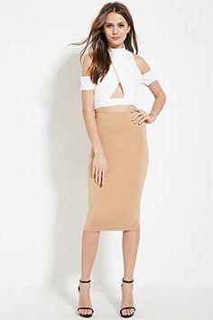 Contemporary Pencil Skirt