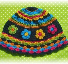 gorrito Crochet Baby Hat Patterns, Crochet Cap, Crochet Baby Hats, Crochet Hooks, Free Crochet, Knitted Hats, Crochet Ideas, Cute Hats, Creative Design
