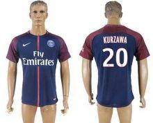Paris Saint-Germain #20 Kurzawa Home Soccer Club Jersey