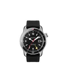 British watchmaker Bremont is the official timing partner for the America's Cup sailing race and Oracle Team USA. Pictured: Bremont Oracle II watch.