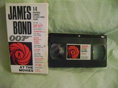 James Bond 007 At The Movies VHS 1985 Promotion Sean Connerry Roger Moore