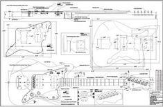 Full Scale Jazzmaster plans DIY $12.99