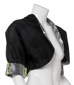 1 small and 1 medium available: Small - Black sparkle polyester taffeta with silver metallic lining and fluorescent green binding Medium - Black sparkle polyester taffeta with silver metallic lining and black polka dot binding Black Sparkle, Baby Car Seats, My Etsy Shop, Halloween, Trending Outfits, Unique Jewelry, Check, Clothes, Shopping