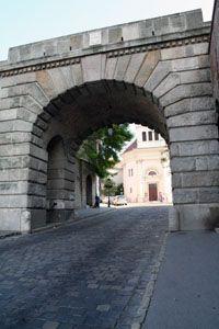 Budapest, Hungary- Vienna Gate    Budapest Castle District