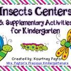 This file is packed with activities to help your students learn about insects!  Included: Centers - Pocket Chart - Picture/Insect Word Match + Acco... $7.00