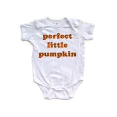 Apericots Fun Halloween Perfect Little Pumpkin Unisex Short Sleeve Baby Romper