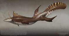 ArtStation - Speculative Evolution 003 - Pacific Kelpsegator, Julio Nicoletti