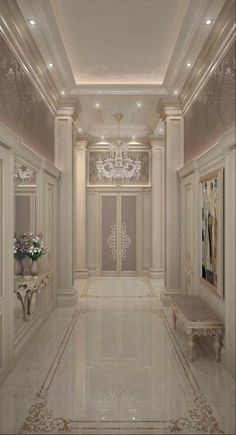 Home Room Design, Dream Home Design, Home Interior Design, House Design, Mansion Interior, Luxury Homes Interior, Flur Design, Luxury Homes Dream Houses, Luxurious Bedrooms