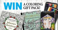 Win a Prismacolor, Johanna Basford & Hanna Karlzon Coloring Gift Pack! https://sarahrenaeclark.com/giveaways/win-prismacolor-johanna-basford-hanna-karlzon-coloring-gift-pack/?lucky=12698