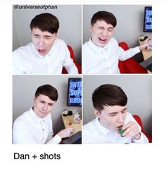 When people say the water was actually vodka I just want to direct them at this bc do you see him drinking vodka it is noticeable