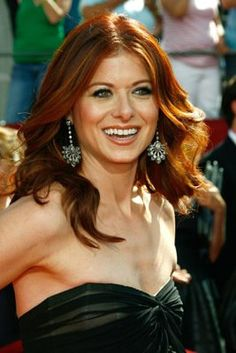 I don't know if I am more jealous of her hair or of Connie Britton's, its a toss up Beautiful Redhead, Beautiful Smile, Red Hair Inspiration, Debra Messing, Copper Hair, Red Hair Color, Love Hair, Hair Hacks, Pretty Woman