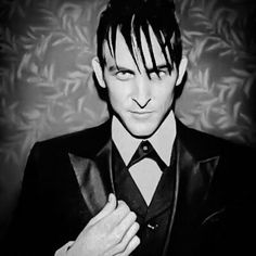 "The Penguin (""Gotham""). This guy just makes the show. Robin Lord Taylor - Oswald Cobblepot"