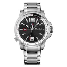 Tommy Hilfiger Brandon Black Dial Mens Watch 1791221 for sale online Casual Watches, Watches For Men, Tommy Hilfiger Watches, Affordable Watches, Sport, Casio Watch, Quartz Crystal, Omega Watch, Bracelet Watch