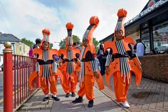 Carnival Arts - London   Walkabout Carnival Characters to Hire - Contraband International Ltd