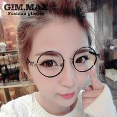 Buy 'GIMMAX Glasses – Round Glasses' with Free Shipping at YesStyle.ca. Browse and shop for thousands of Asian fashion items from China and more!