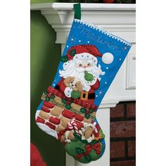It's true that MerryStockings carries the full line of Bucilla felt Christmas stocking kits. We also have exclusive retired & discontinued Bucilla kits that you'll find no where else. With the largest inventory of kits anywhere, we know you'll find a kit Felt Stocking Kit, Christmas Stocking Kits, Felt Christmas Stockings, Christmas Art, Christmas Projects, Christmas Holidays, Christmas Decorations, Christmas Ornaments, Holiday Decor