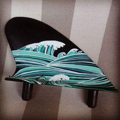 Trouvé sur la plage de Labenne océan et customisé #poscagallery #posca #landestyle #surf
